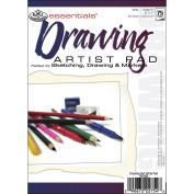 Essentials Drawing Artist Paper Pad 13cm x 18cm -75 Sheets