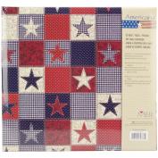 MBI American Stars Postbound Album, 30cm x 30cm
