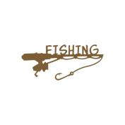 Cardstock Laser Die-Cuts 10cm x 15cm -Fishing