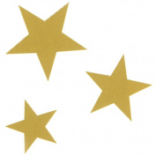 Rubber Stampede Mounted Rubber Stamp 4.1cm x 4.4cm -Star Trio