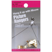 Picture Hangers With Super Nail 4/Pkg-Up to 20 lb