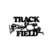 Cardstock Laser Die-Cuts-Track & Field
