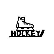 Cardstock Laser Die-Cuts 10cm x 15cm -Hockey