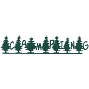 Cardstock Laser Die-Cut Border 6.4cm x 30cm -Camping