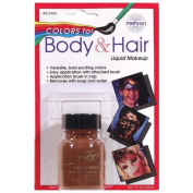 Costumes For All Occasions DD208 Liquid Makeup 30ml Brown