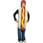 Hot Dog - Childrens Fancy Dress Costume - Ages 7 to 10