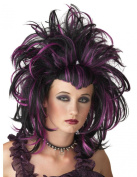 Costumes For All Occasions MR177154 Wig Evil Sorceres Black Purple