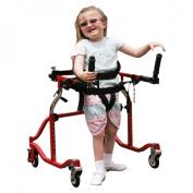 Drive Medical Paediatric Luminator Red Posterior Gait Trainer Model