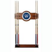 NHL Nashville Predators 2 piece Wood and Mirror Wall Cue Rack