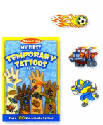 Melissa & Doug - My First Temporary Tattoos Blue