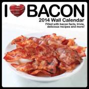 I Heart Bacon 2014 Wall Calendar