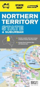UBD Gregorys Northern Territory State and Suburban Map 571
