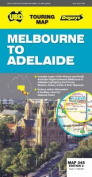 Melbourne to Adelaide Map 345