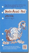 Dodo Acad-Pad Filofax-compatible Pers Org Diary Refill 2013/14 - Academic Mid Year Diary