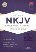Large Print Compact Reference Bible-NKJV [Large Print]