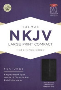 Large Print Compact Reference Bible-NKJV-Magnetic Flap [Large Print]