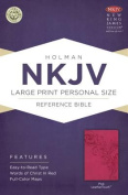 Large Print Personal Size Reference Bible-NKJV [Large Print]