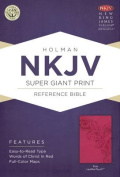 Super Giant Print Reference Bible-NKJV [Large Print]
