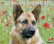 German Shepherds Wall Calendar
