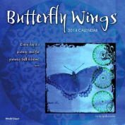 Butterfly Wings Wall Calendar