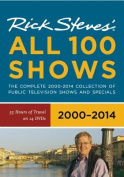 Rick Steves' Europe All 100 Shows DVD Boxed Set 2000-2014