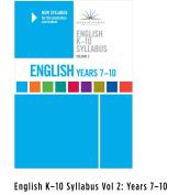 NSW Syllabus English K-10