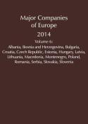 Major Companies of Europe 2014