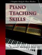 Piano Teaching Skills