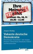 Vakante Deutsche Demokratie [GER]