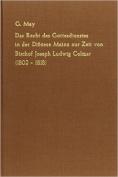 Das Recht Des Gottesdienstes in Der Diozese Mainz Zur Zeit Von Bischhof Joseph Ludwig Colmar (1802-1818) [GER]