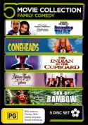 Addams Family Values / Coneheads  / Imagine That / Son of Rambow / The Indian in the Cupboard (Family Comedy)  [Region 4]