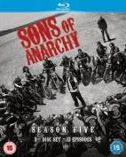 Sons of Anarchy: Season Five [Region A] [Blu-ray]