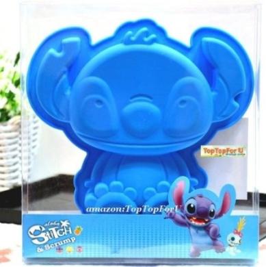 Disney Stitch Lilo Silicone Chocolate Jelly Muffin Cup