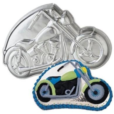 Cake Art Motorcycle Cake Pan : Wilton Motorcycle Cake Pan by Wilton - Shop Online for ...