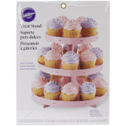 Wilton Light Pink Borders Cupcake Stand