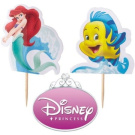 Princess Ariel Cake or Cupcake Topper