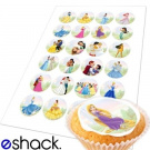 24 x Disney Princess Edible Cupcake Toppers