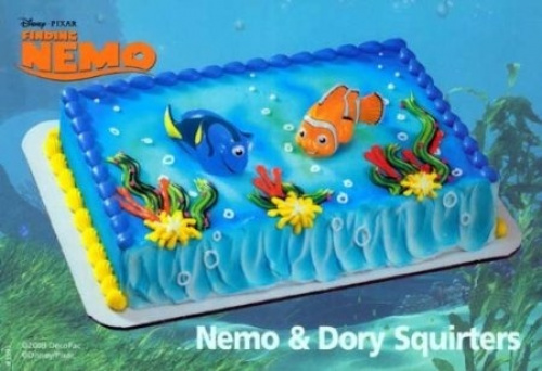 Nemo And Dory Cake Toppers