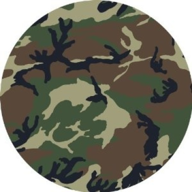 Camo Army Edible Cake Topper Decoration by Edible Cake ...