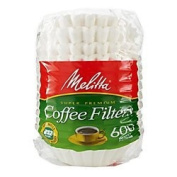 Melitta Super Premium Basket Coffee filters For 8-12 Cup Coffee Makers