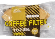 KALITA Brown 100 sheets filter paper coffee filter 102
