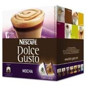Dolce Gusto Coffee Capsules, Mocha, 70ml, 16 per Box