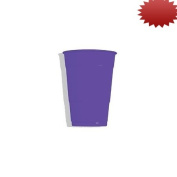 Creative Converting Paper Hot/Cold Cups, 270ml, Purple Colour, Package Of 24,