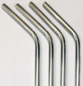 Stainless Steel Drink Straws- Set of 4