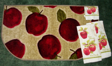Better Homes And Gardens Apple Kitchen Rug