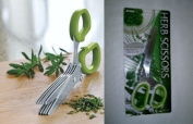 Herb Scissors Kitchen Shears 5 Blade