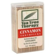 Tea Tree Therapy 42129 Cinnamon Toothpicks