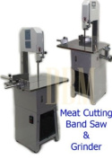 Butcher Meat Cutting Cutter Band Saw Mincer Grinder Sausage Stuffer Maker