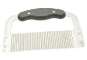Stainless Steel Garnish Crinkle Cutter - 17.8cm Blade