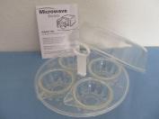 4 Egg Microwave Egg Poacher Set